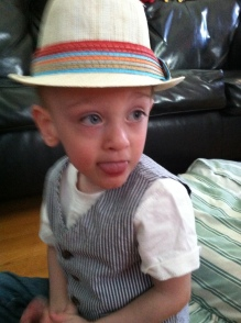 James and His Hat