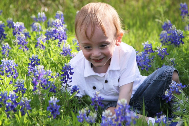 Smiles in the Bluebonnets