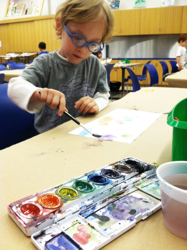 DMA First Tuesday watercolors